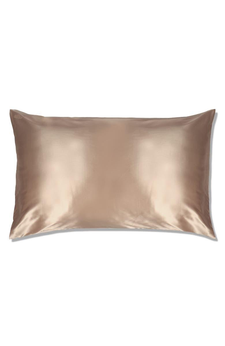SLIP Pure Silk Pillowcase, Main, color, CARAMEL