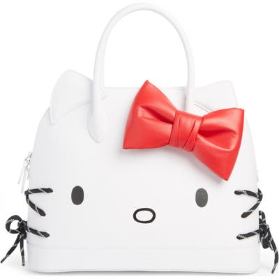 Balenciaga X Hello Kitty Medium Top Handle Bag - White
