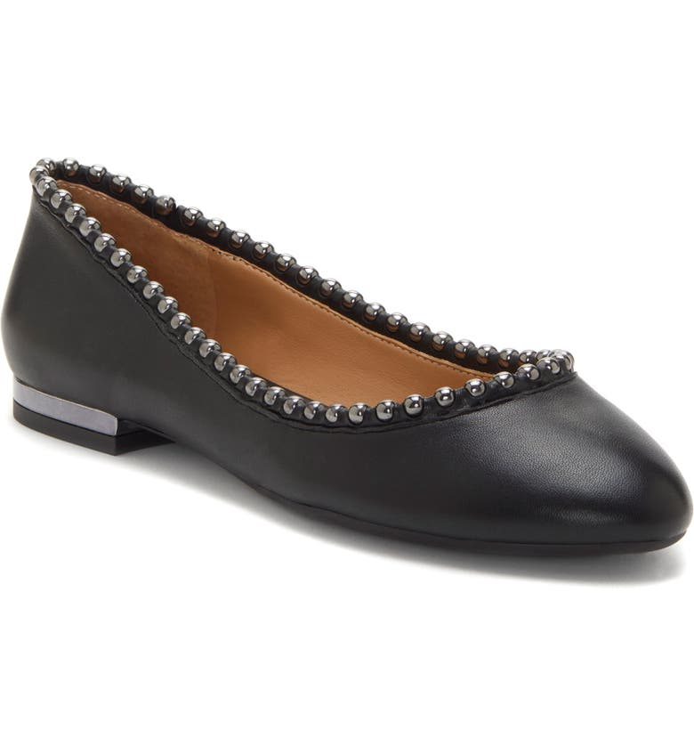 JESSICA SIMPSON Gillian Flat, Main, color, BLACK LEATHER