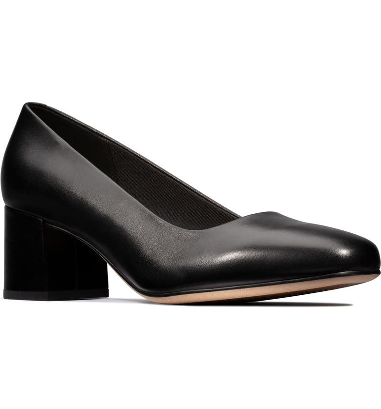 CLARKS<SUP>®</SUP> Sheer Rose Pump, Main, color, 003