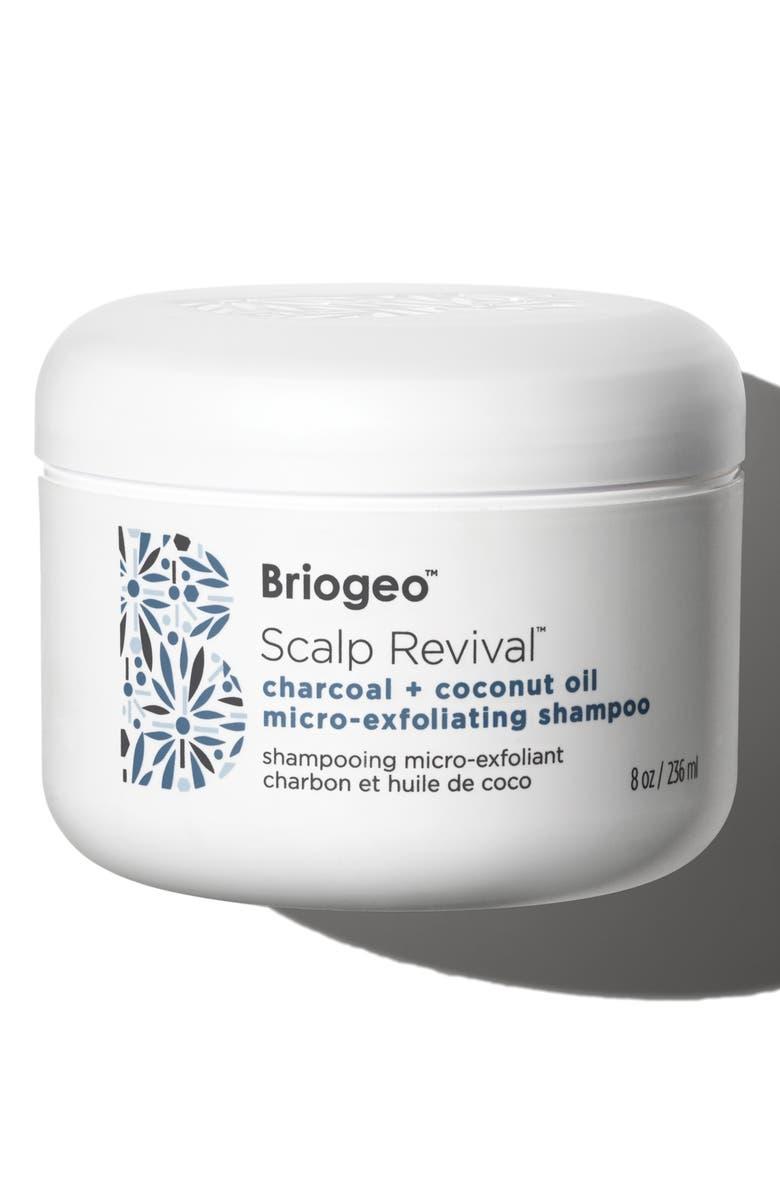 BRIOGEO Scalp Revival Charcoal + Coconut Oil Micro-Exfoliating Shampoo, Main, color, NO COLOR