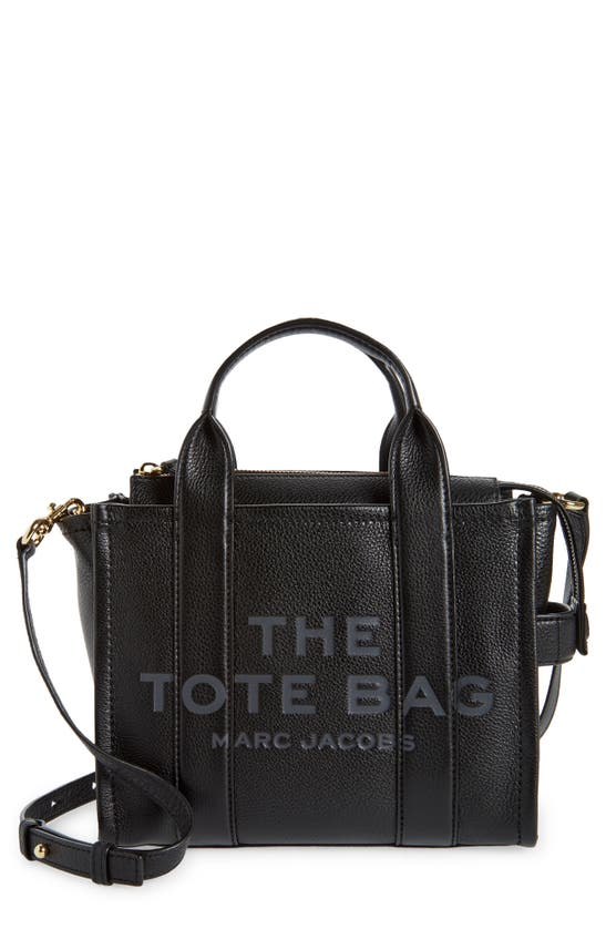 The Marc Jacobs Leathers MINI TRAVELER LEATHER TOTE
