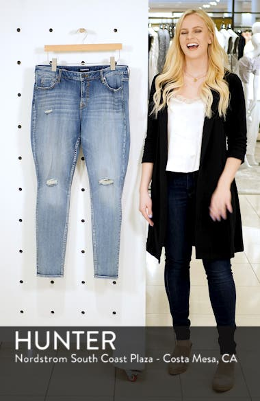 Jagger Ripped Skinny Jeans, sales video thumbnail