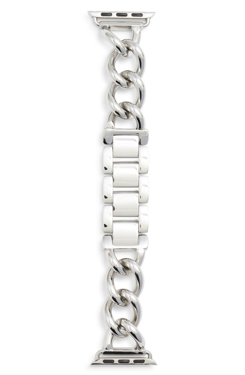 BEZELS AND BYTES Bezels & Bytes Chunky Chain Apple Watch Band, 38mm, Main, color, 040