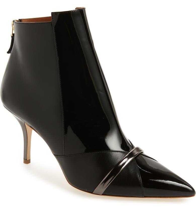 MALONE SOULIERS Romee Bootie, Main, color, BLACK/ ANTHRACITE