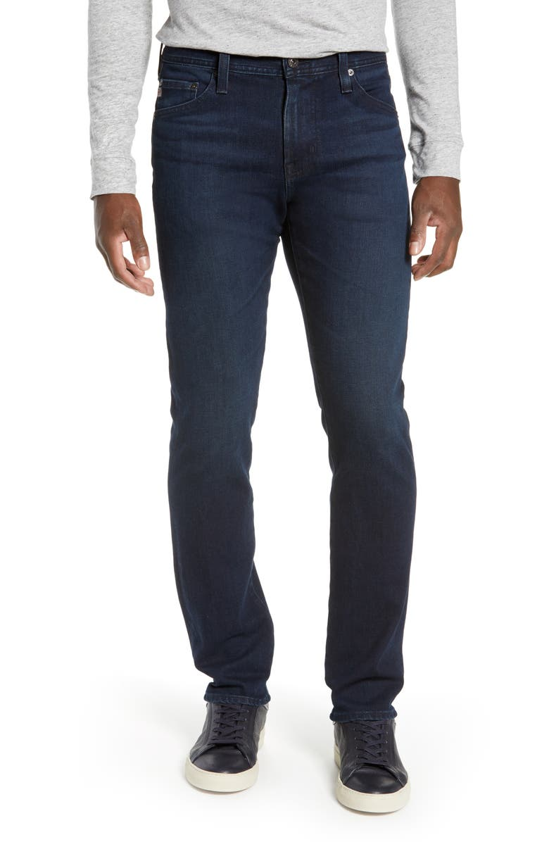 AG Everett Slim Straight Leg Jeans, Main, color, EQUATION