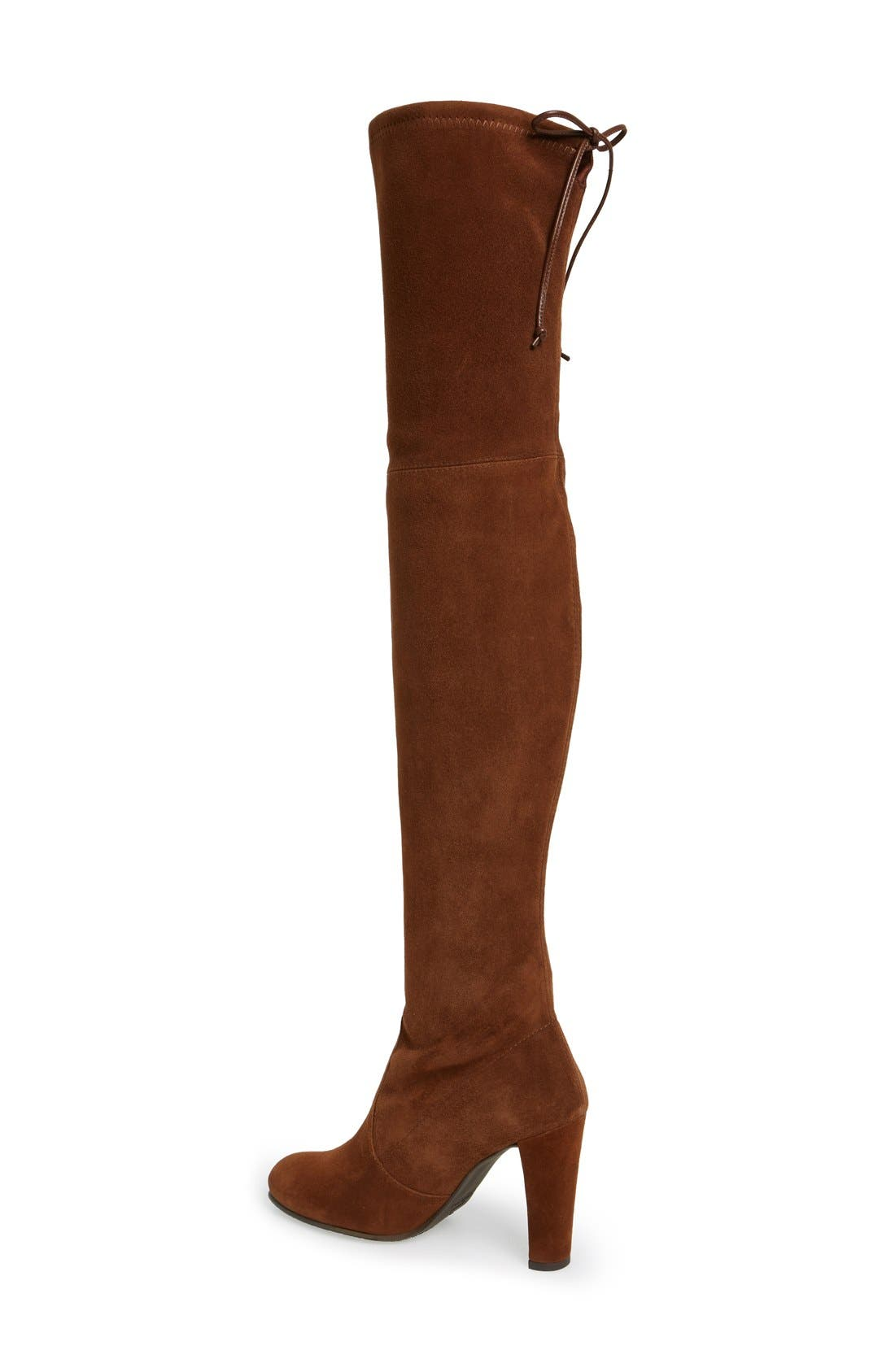 ,                             'Highland' Over the Knee Boot,                             Alternate thumbnail 33, color,                             201