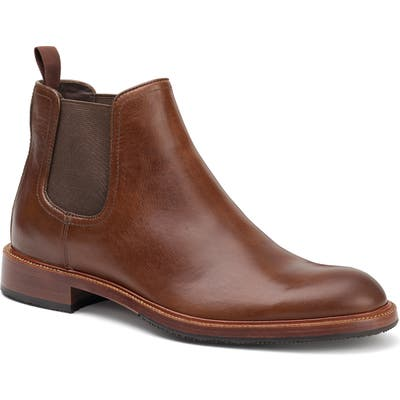 Trask Leo Chelsea Boot, Brown