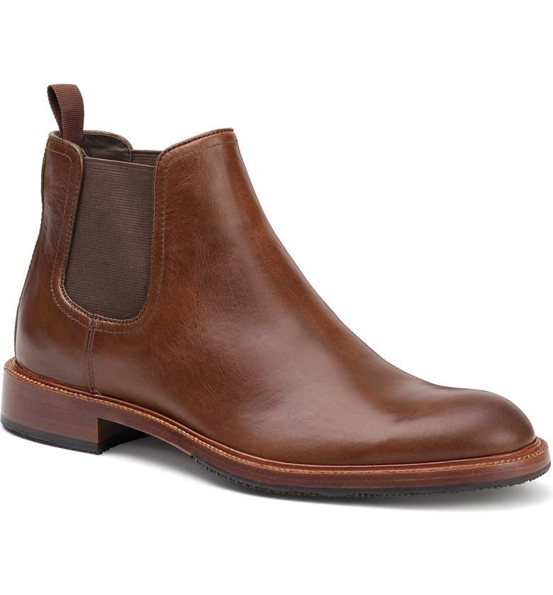 TRASK Leo Chelsea Boot, Main, color, BRANDY