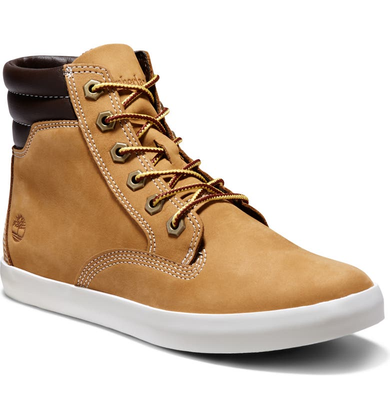 TIMBERLAND Dausette Sneaker Boot, Main, color, WHEAT