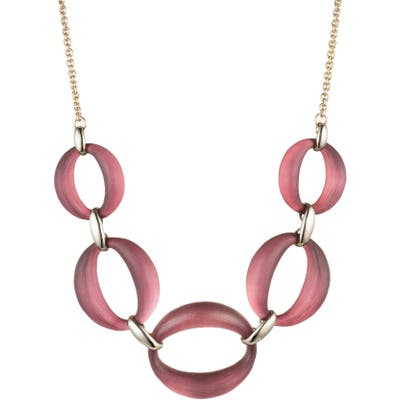 Alexis Bittar Essentials Large Lucite Link Necklace