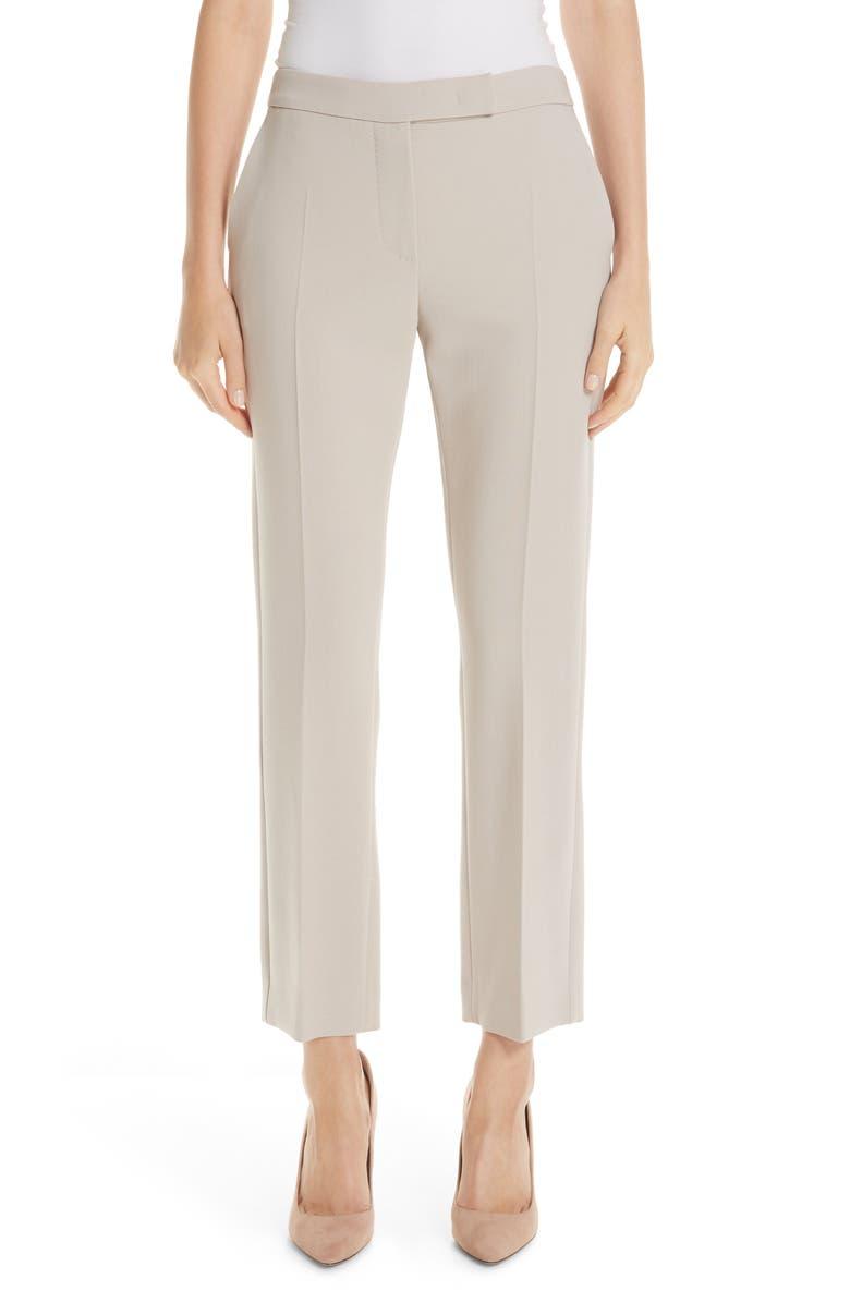 MAX MARA Ostile Stretch Wool Pants, Main, color, 250