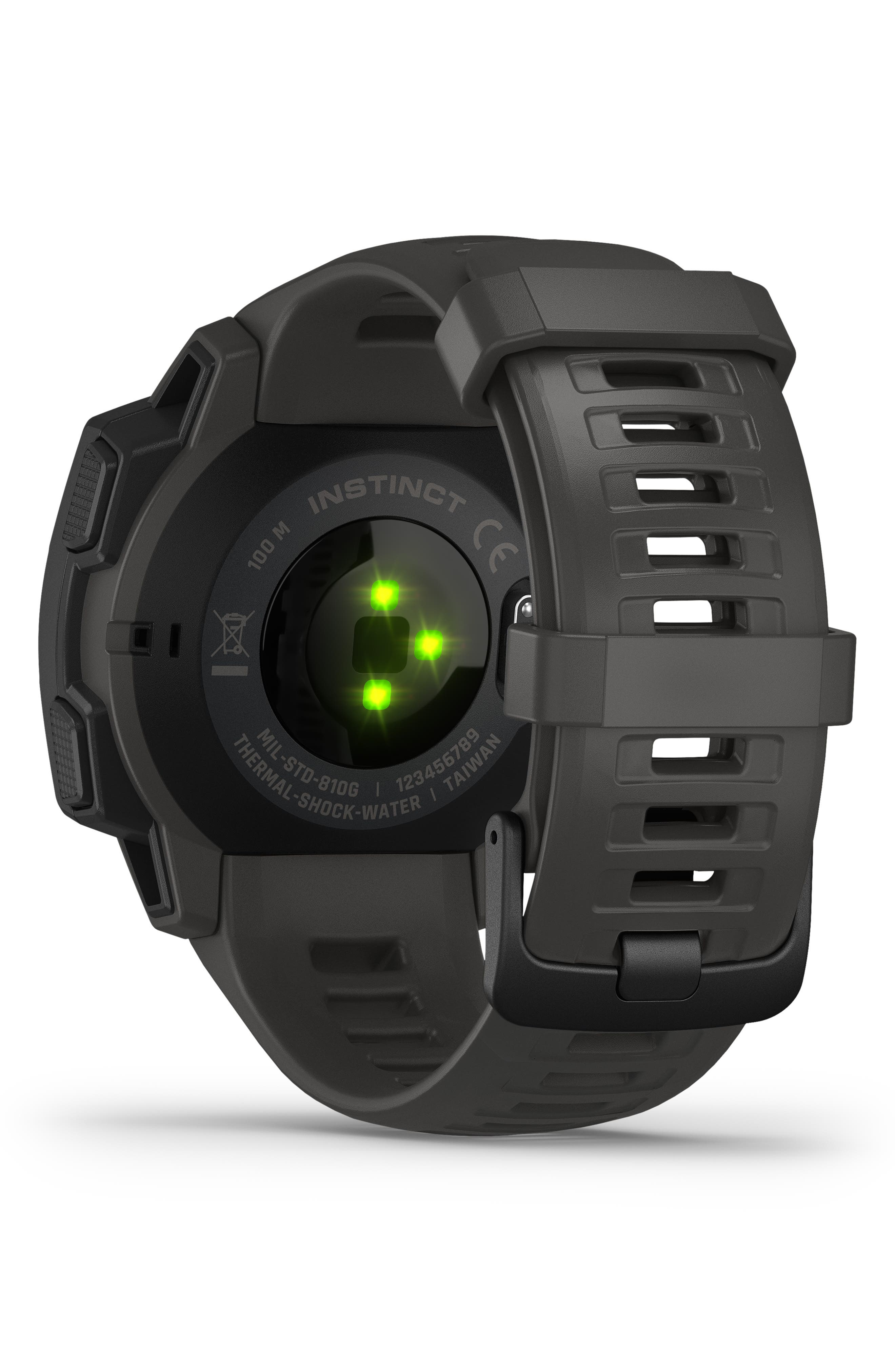 ,                             Instinct<sup>™</sup> Outdoor GPS Watch, 45mm,                             Alternate thumbnail 2, color,                             GRAPHITE