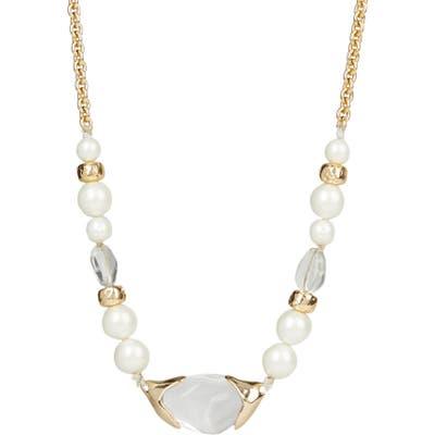 Alexis Bittar Asteria Nova Encased Pebble Strand Necklace