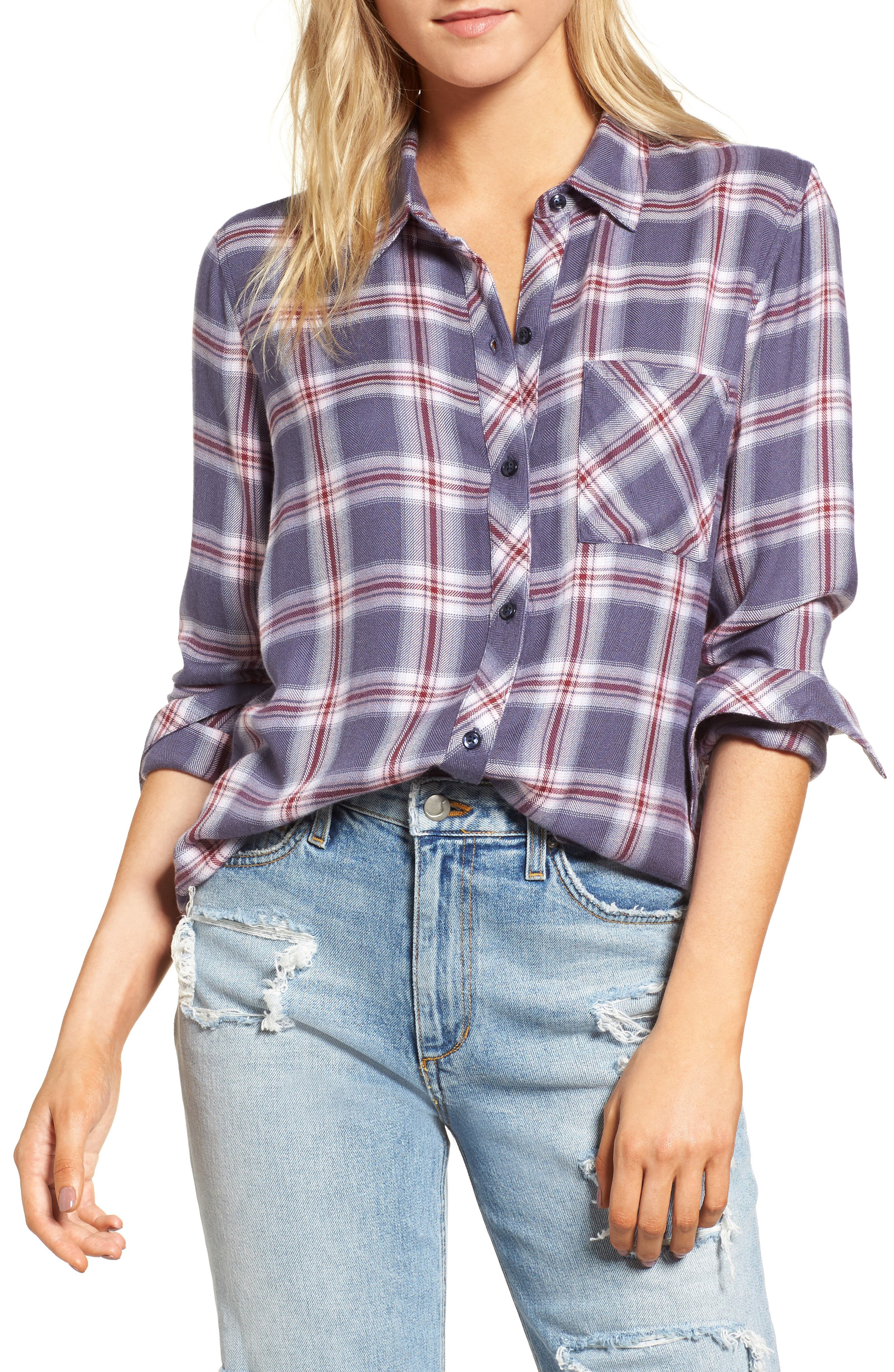 Rails Hunter Plaid Shirt Nordstrom Rack