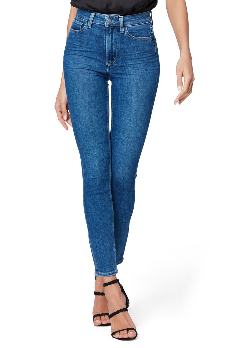 PAIGE Margot Skinny Jeans, Main, color, BAMBI