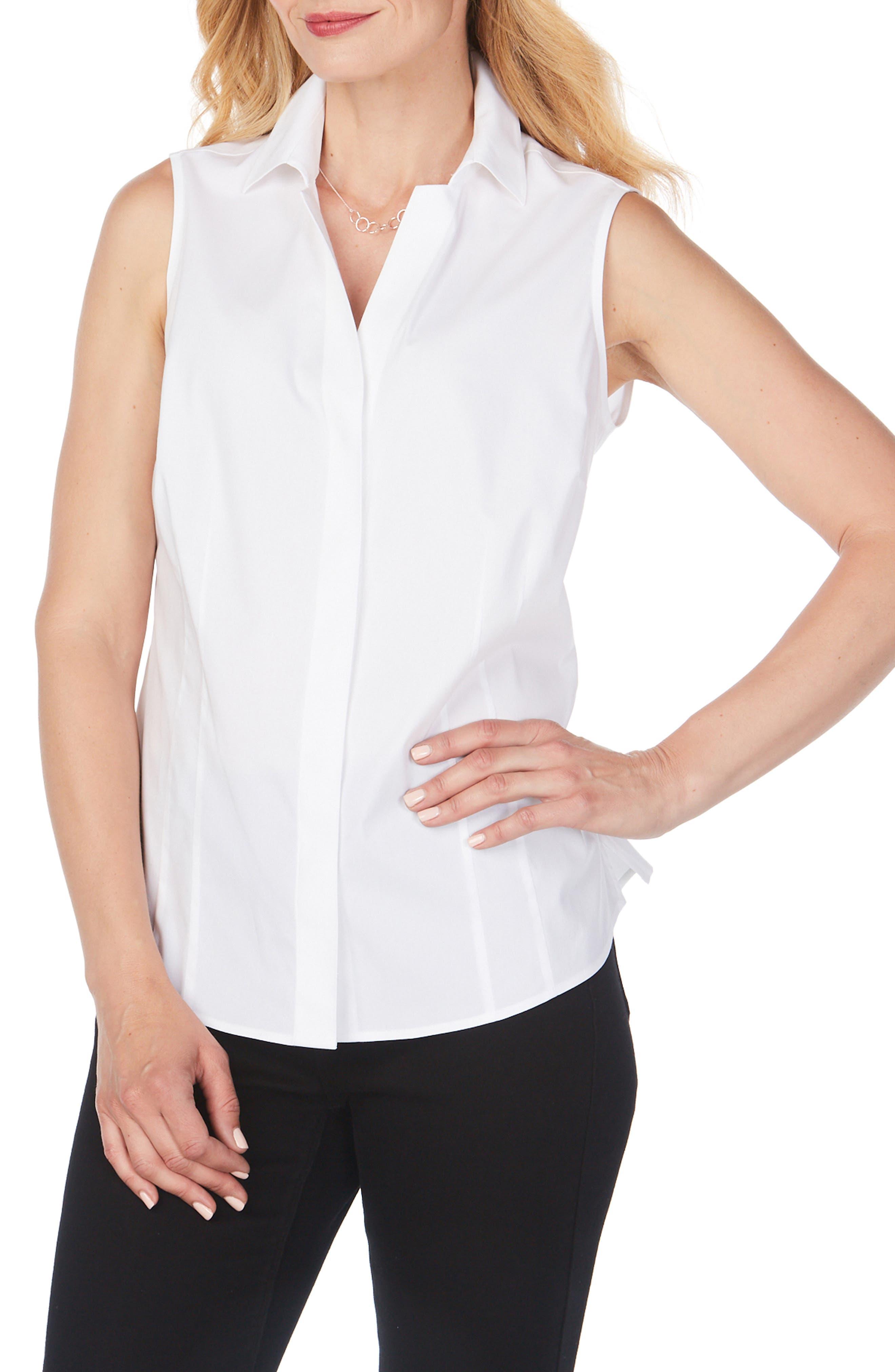 Taylor Non-Iron Sleeveless Shirt