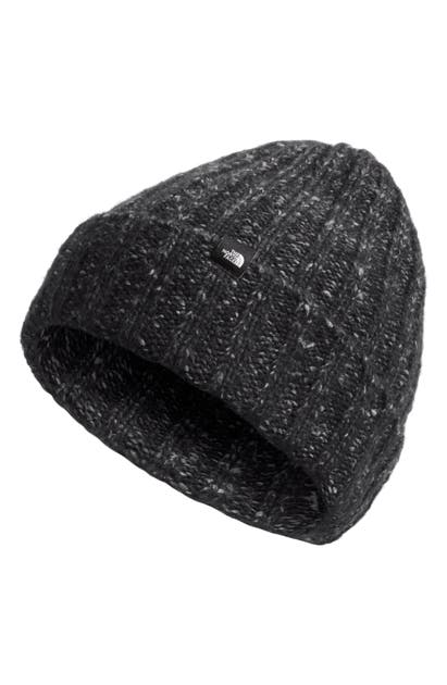 The North Face Chunky Ribbed Beanie In Black