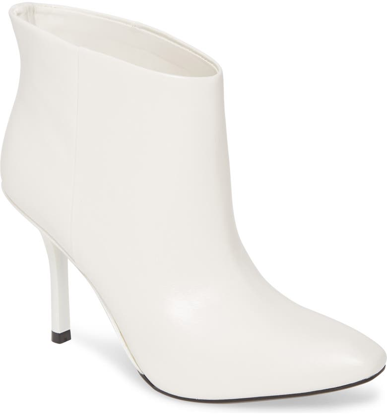 CALVIN KLEIN Mim Bootie, Main, color, WHITE LEATHER