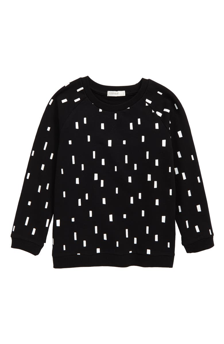 MILES baby Sweatshirt, Main, color, BLACK