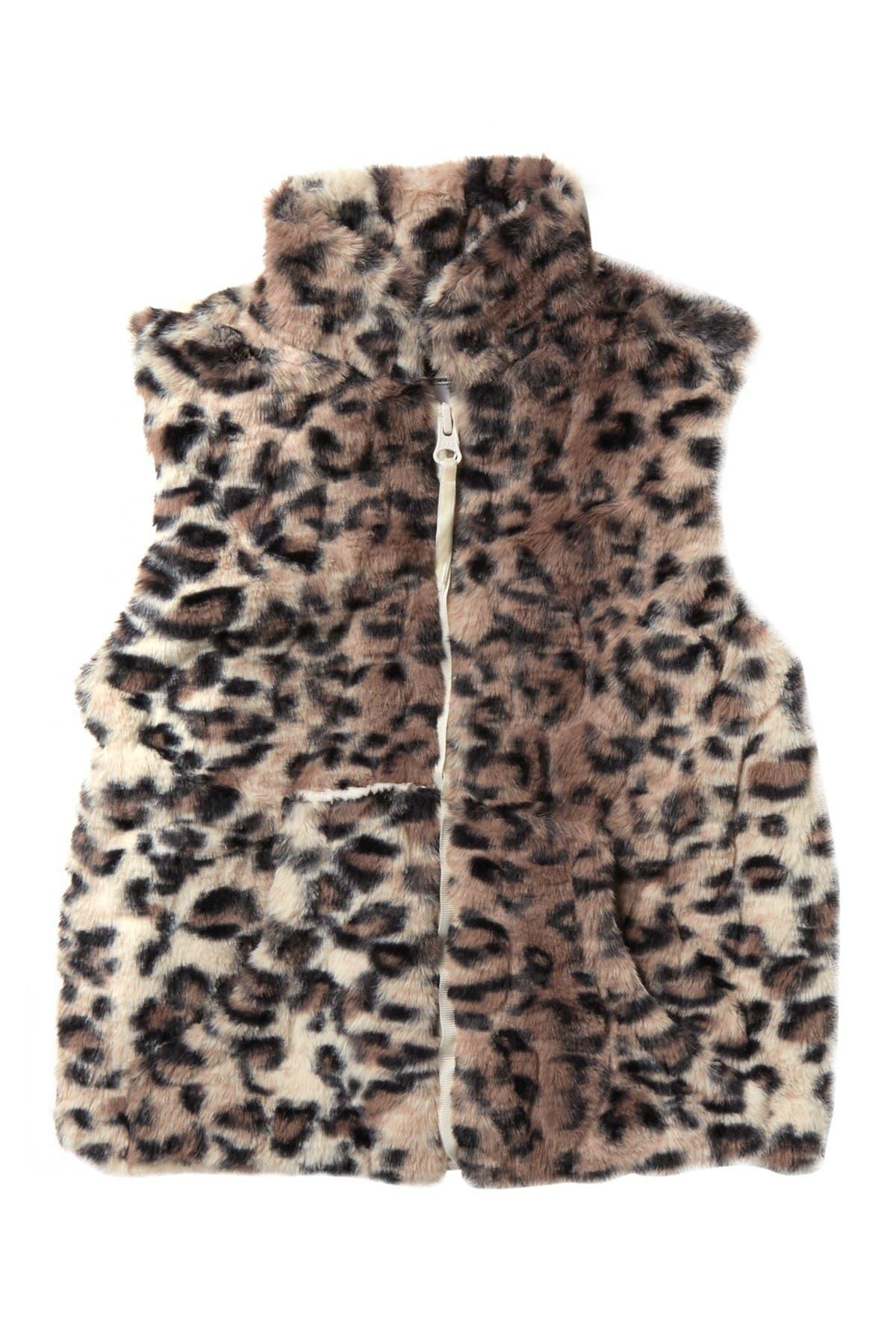 Image of WIDGEON Zippered Faux Fur Vest