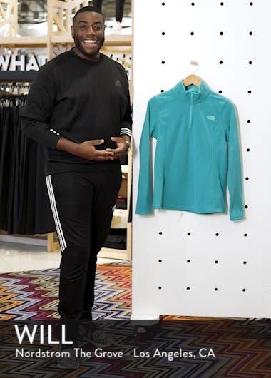 'Glacier' Quarter Zip Pullover, sales video thumbnail