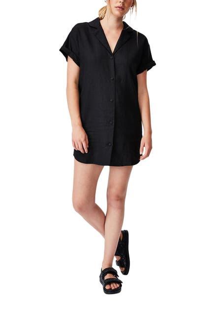 Image of Cotton On Woven Evie Shirt Mini Dress