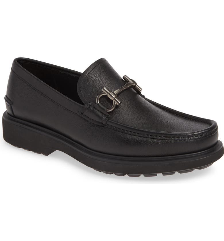 Salvatore Ferragamo Taro Bit Loafer Men
