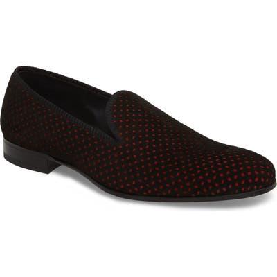 Mezlan Cibeles Venetian Loafer, Black