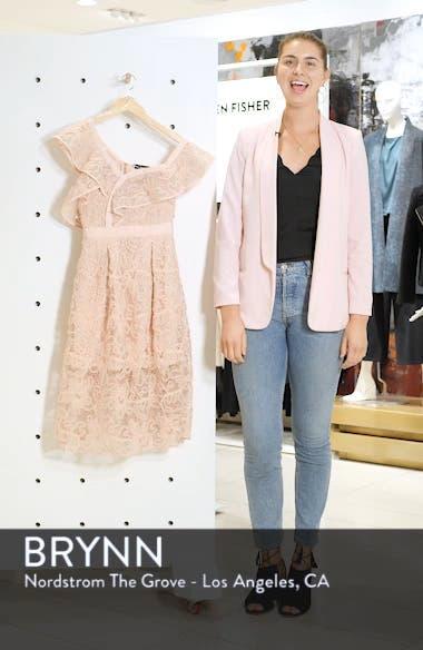 Lace Shoulder Cutout Midi Dress, sales video thumbnail