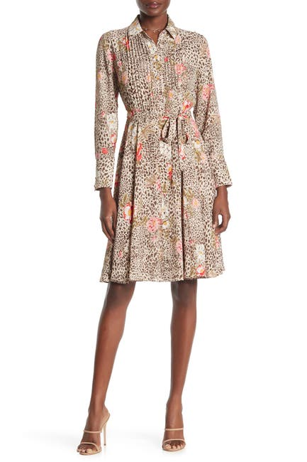 Image of NANETTE nanette lepore Pintuck Shirt Dress