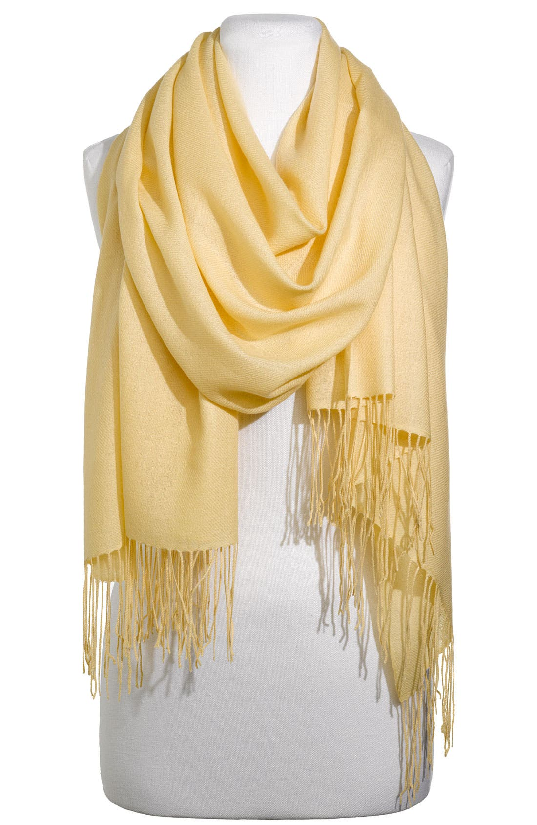 ,                             Tissue Weight Wool & Cashmere Wrap,                             Main thumbnail 196, color,                             701