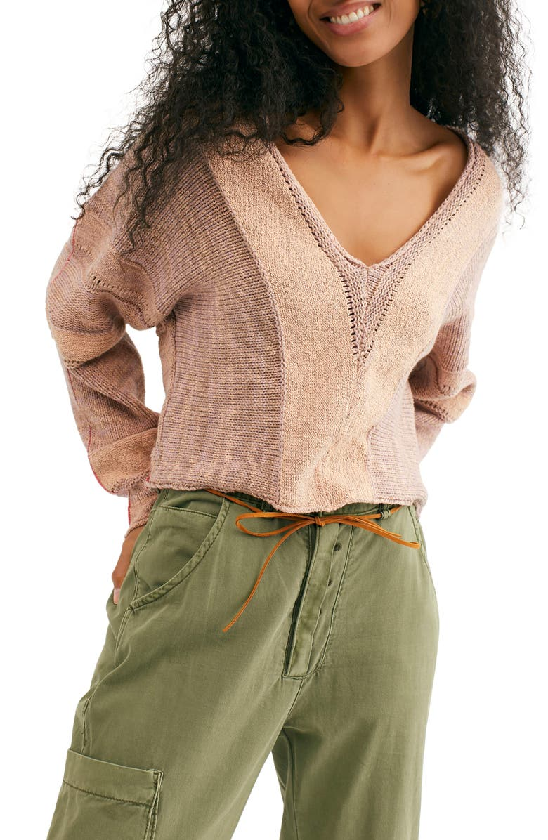 FREE PEOPLE Lemonade Stand Sweater, Main, color, 650