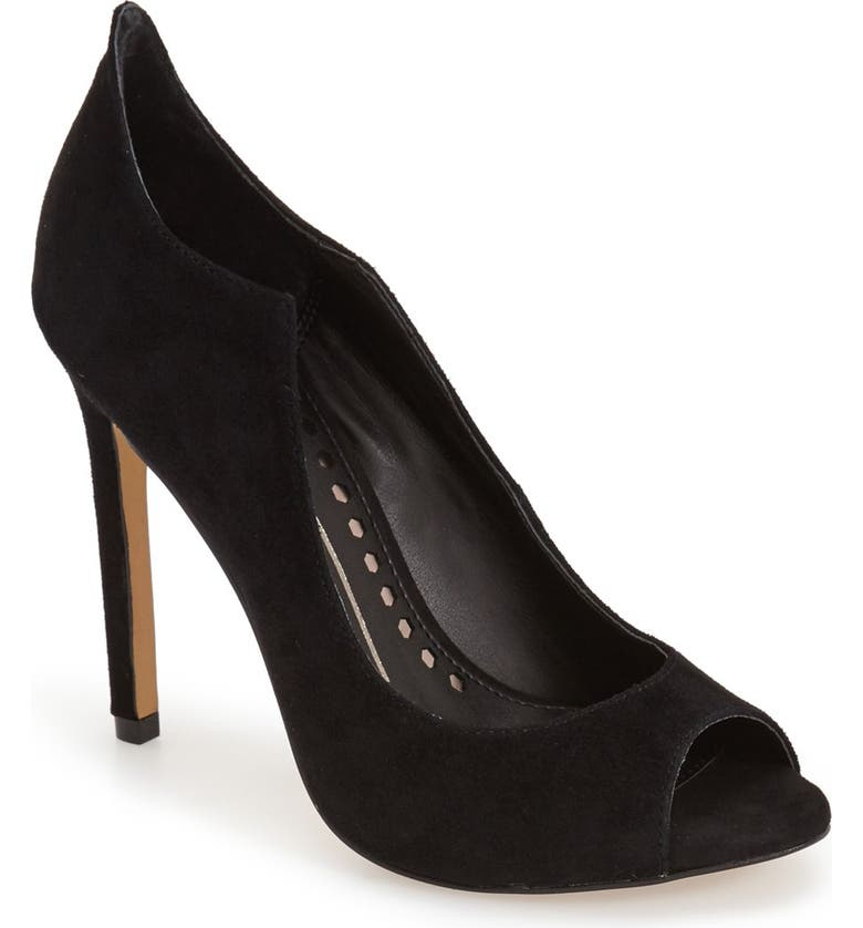 DOLCE VITA 'Isabel' Peep Toe Pump, Main, color, 001