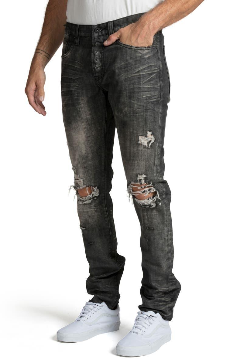PRPS Le Sabre Slim Fit Jeans, Main, color, FLOOD