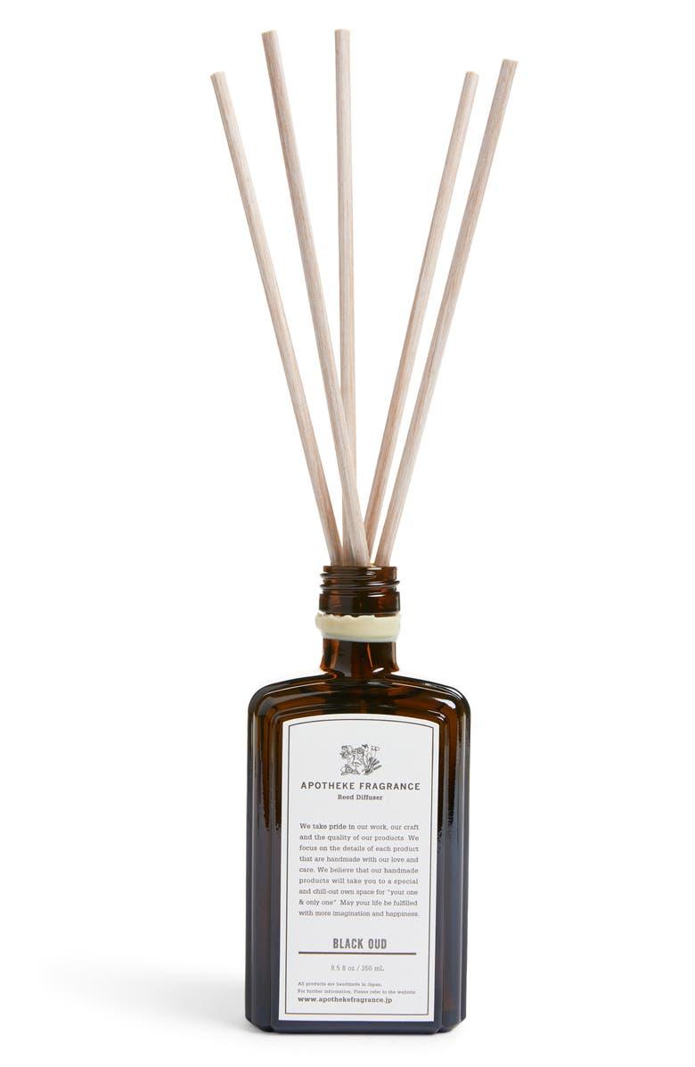 APOTHEKE Fragrance Reed Diffuser, Main, color, BLACK OUD