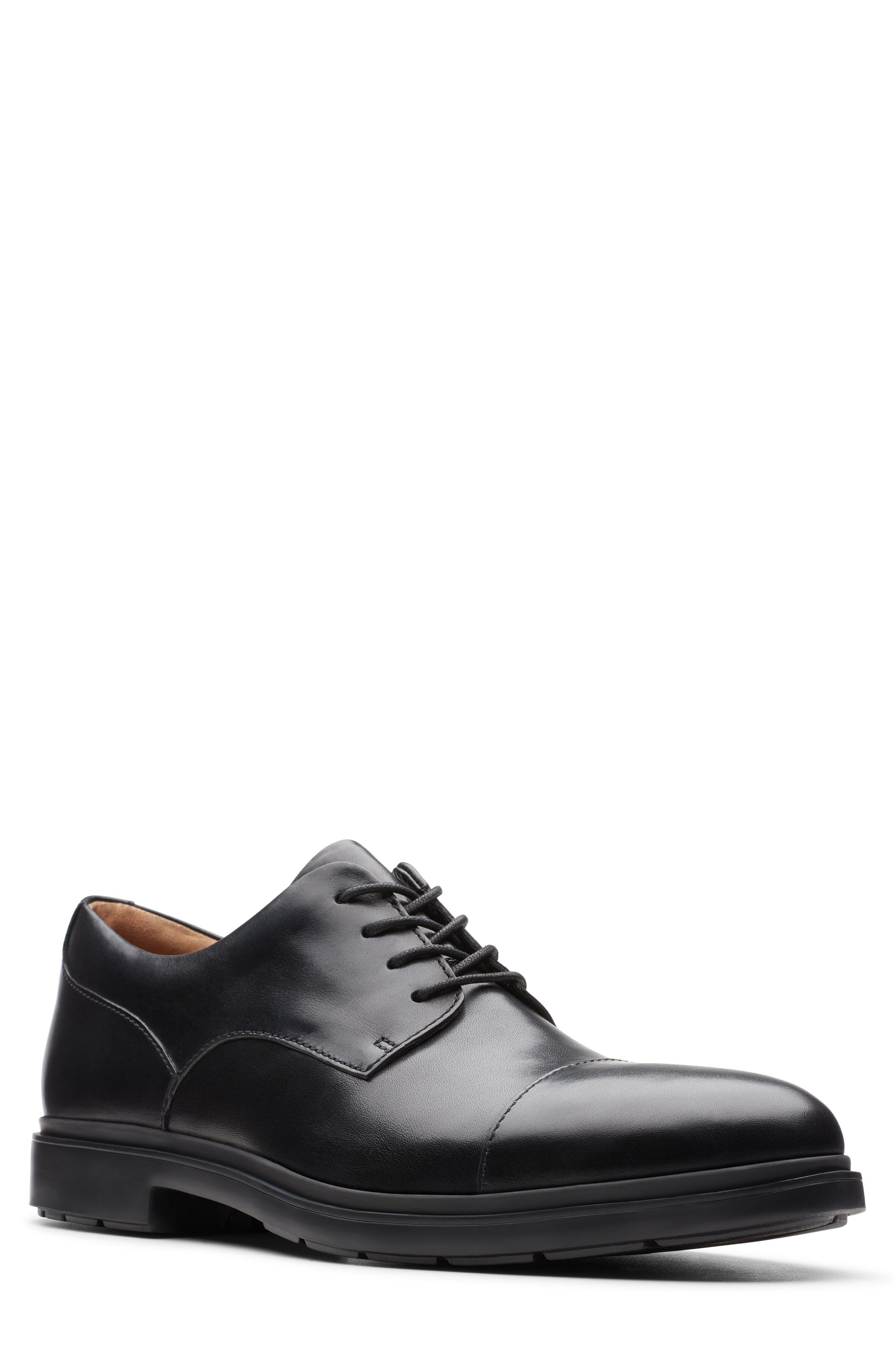 Men's Clarks Un. tailor Cap Toe Derby