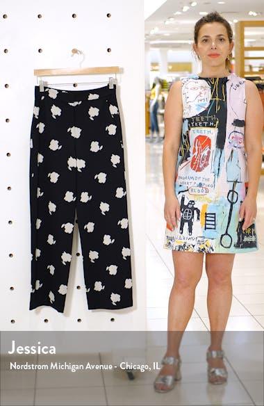 Bora Print Crop Pants, sales video thumbnail