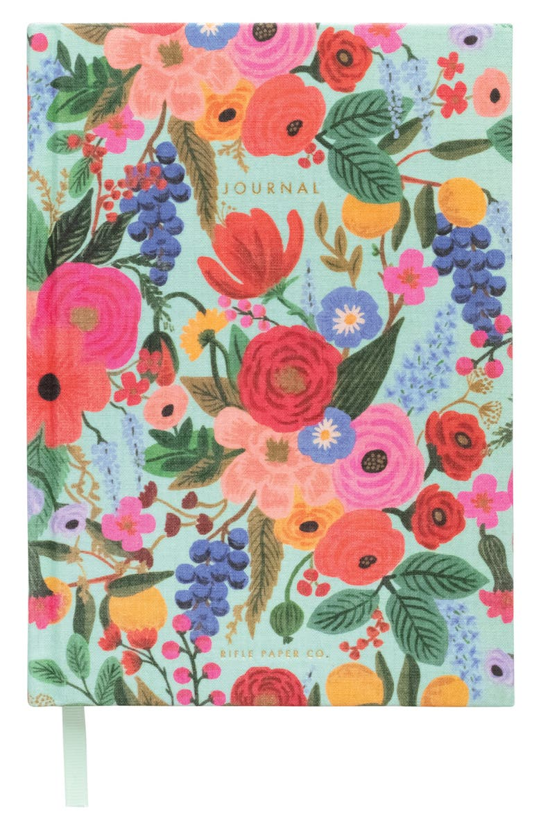 RIFLE PAPER CO. Garden Party Fabric Journal, Main, color, 650