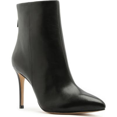 Schutz Michela Pointed Toe Bootie- Black