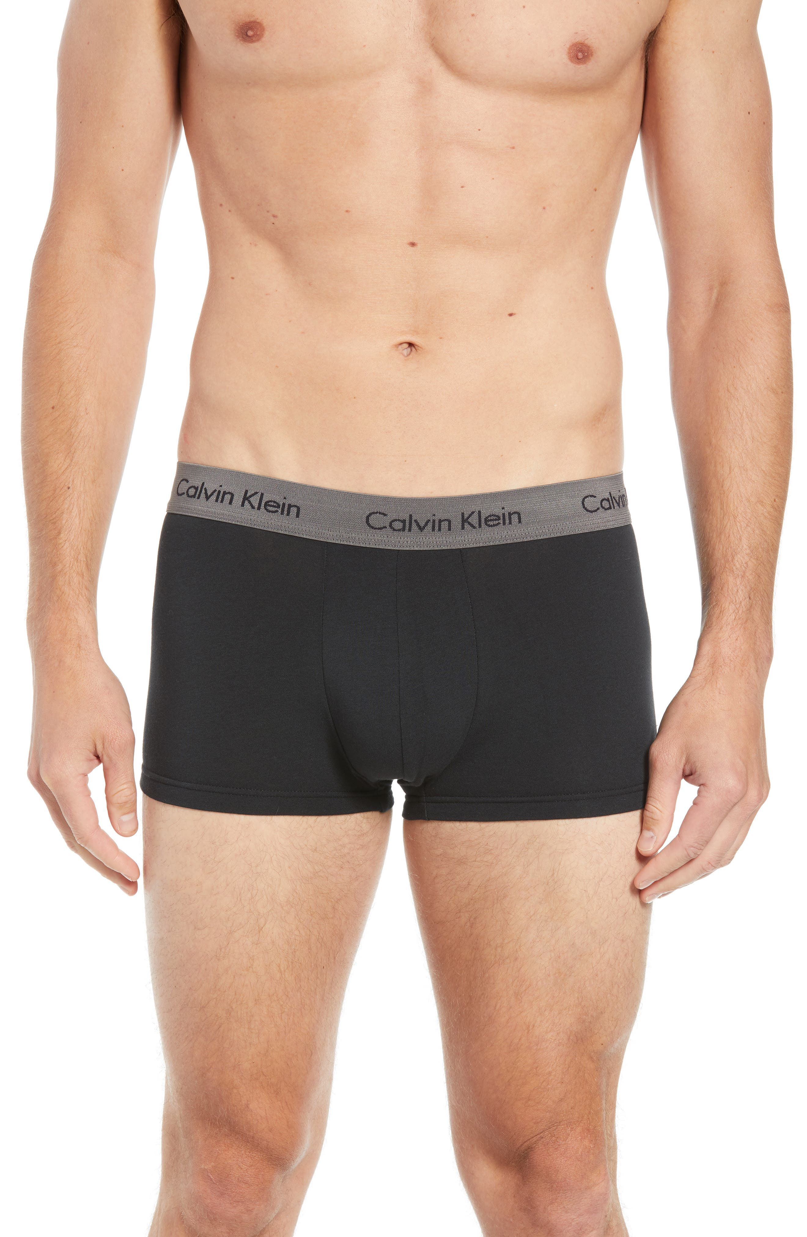,                             3-Pack Stretch Cotton Low Rise Trunks,                             Alternate thumbnail 50, color,                             014