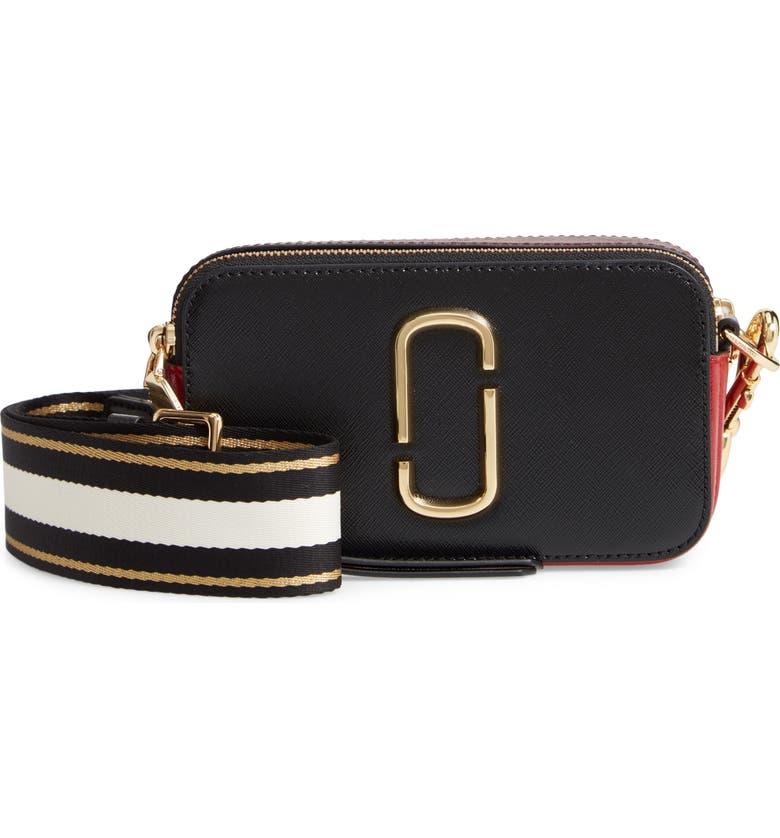9c5e2a7919a67 Snapshot Crossbody Bag, Main, color, BLACK/ RED