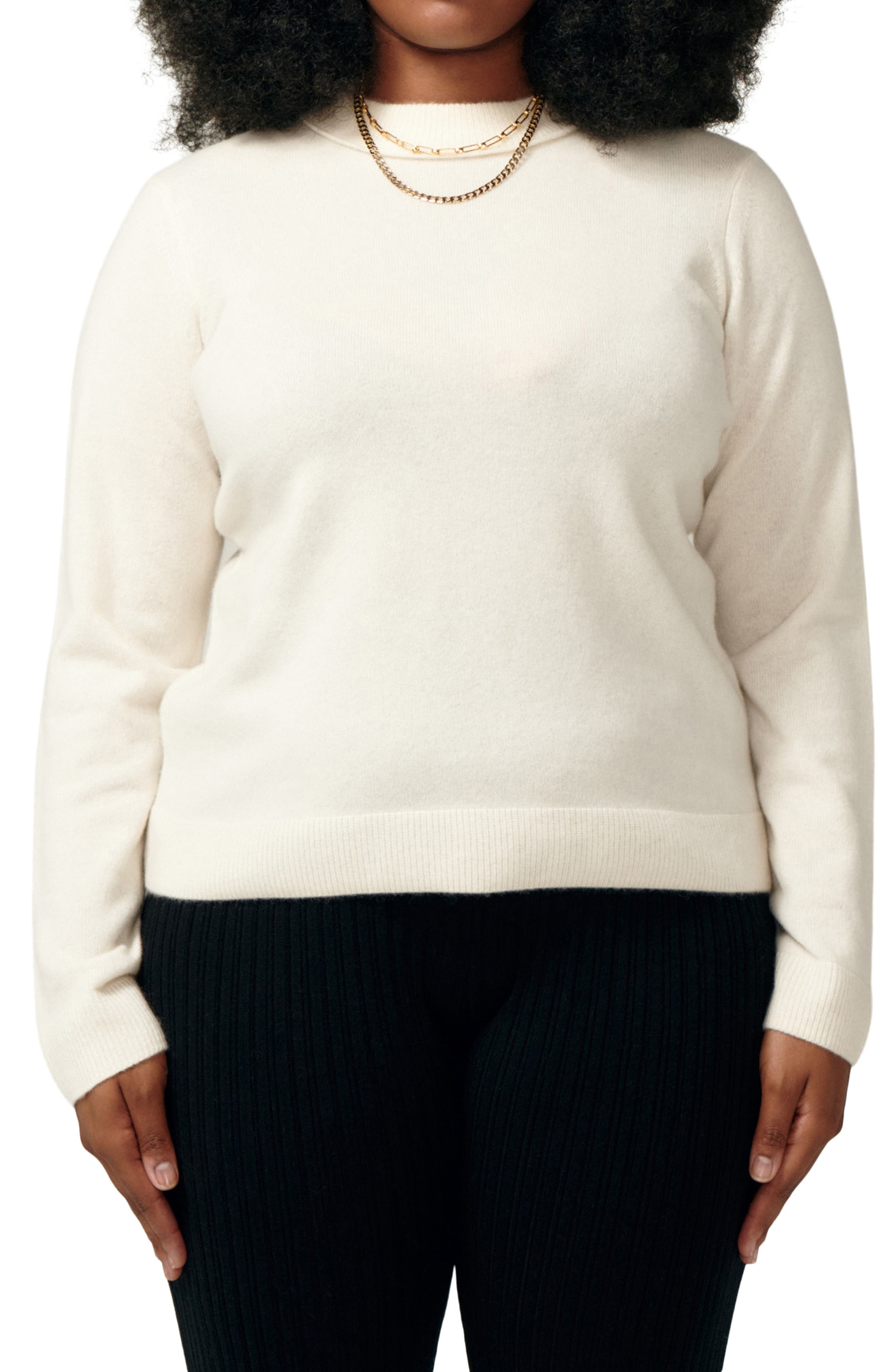 Simone Recycled Cashmere Sweater