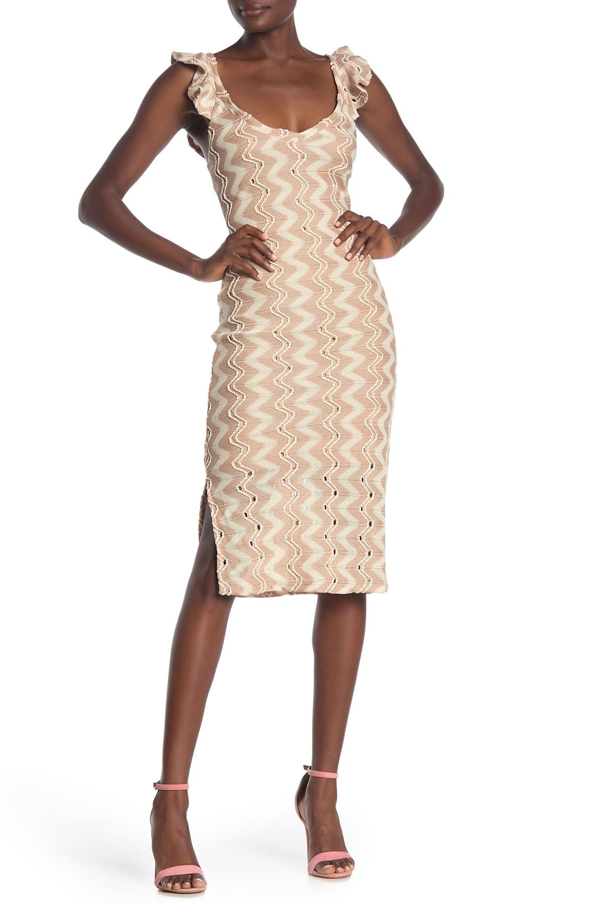 Image of BCBGeneration Sleeveless Knit Dress