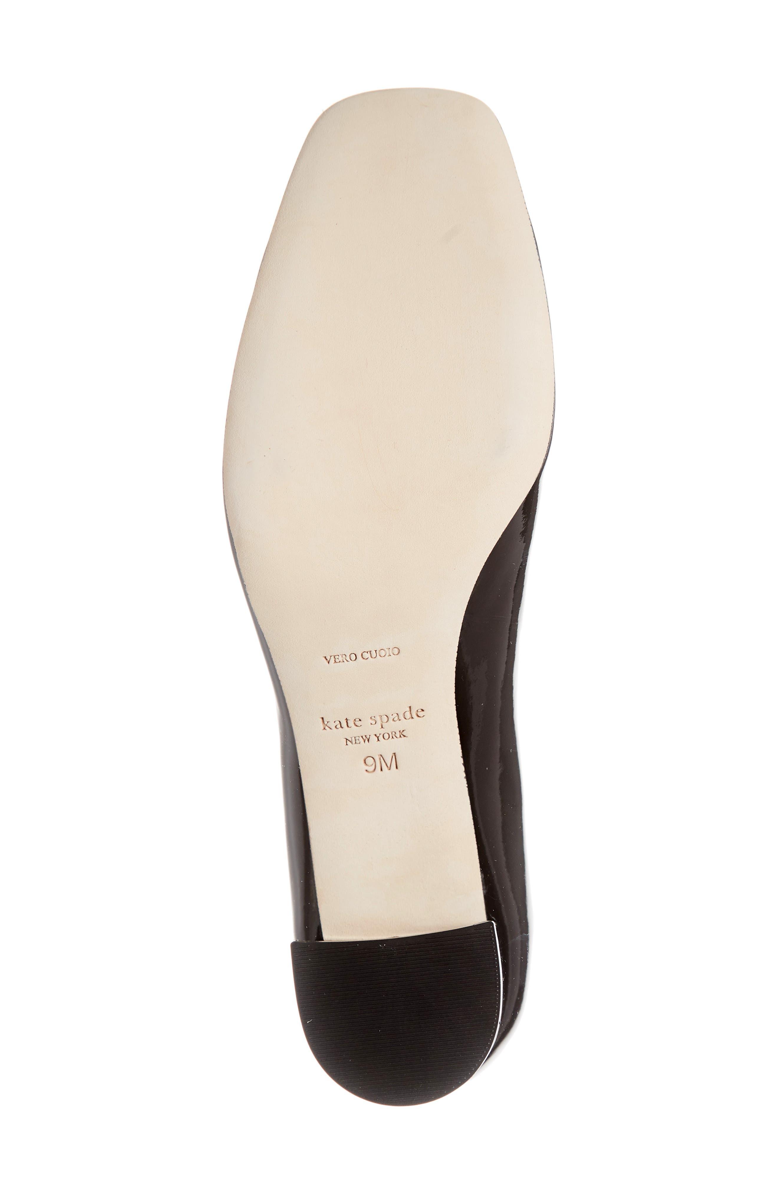 ,                             kylah block heel pump,                             Alternate thumbnail 6, color,                             BLACK PATENT