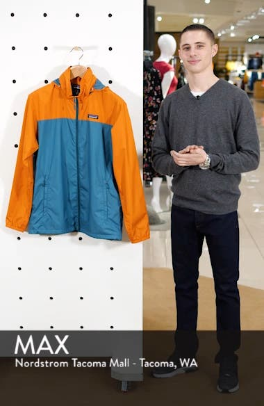 Light & Variable<sup>™</sup> Recycled Wind & Water Resistant Hooded Jacket, sales video thumbnail