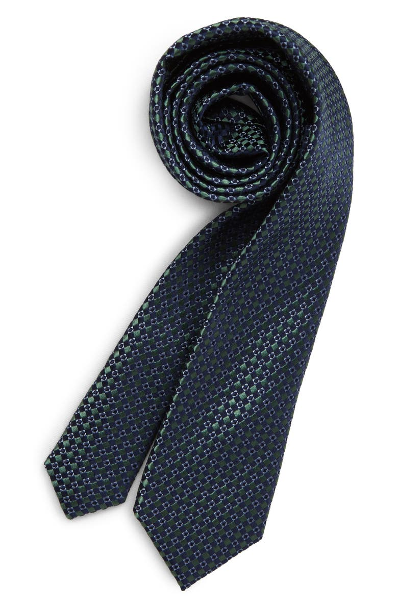 NORDSTROM Alexis Geo Silk Tie, Main, color, 300