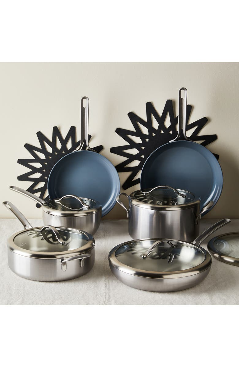 FIVE TWO BY FOOD52 Essential Cookware 11-Piece Set, Main, color, METAL