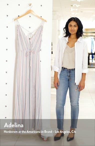 Tie-Back Maxi Dress, sales video thumbnail