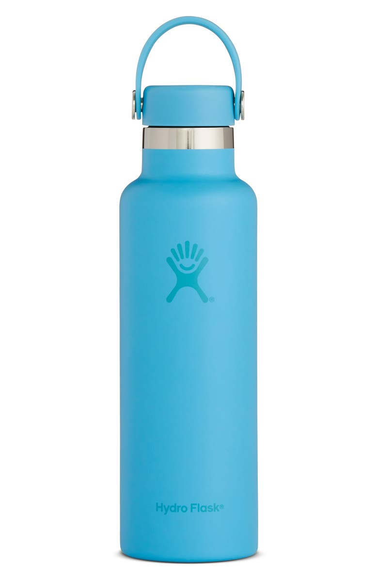 HYDRO FLASK Skyline 21-Ounce Standard Mouth Bottle with Sport Cap, Main, color, SKY